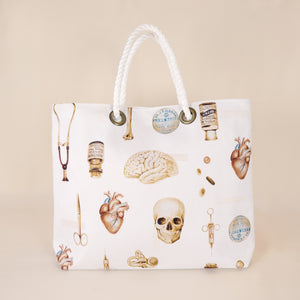 Two Sided Bag - Vintage Medical Art