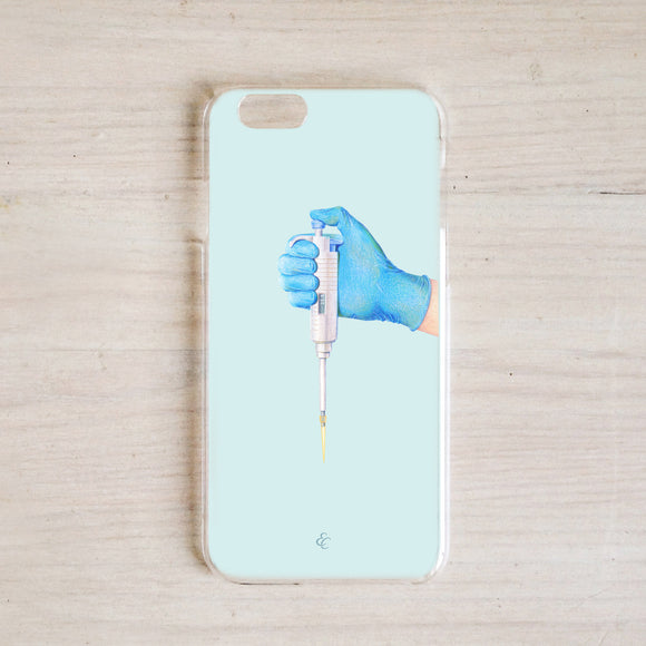 Pipette and Me Phone Case
