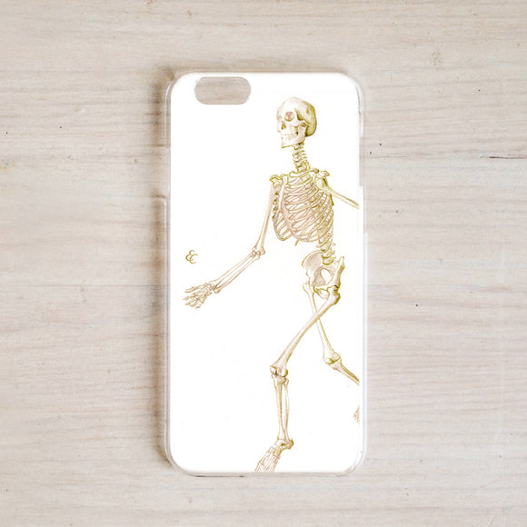 Walking Skeleton Phone Case