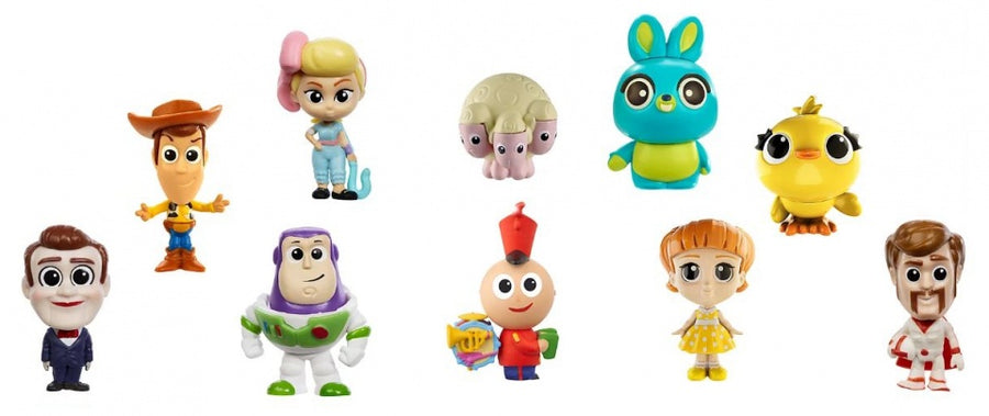 Toy Story 4 speelset mini's junior 10-delig