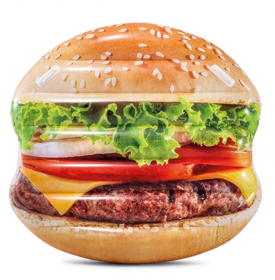 luchtbed Hamburger Island 145 x 142 cm multicolor