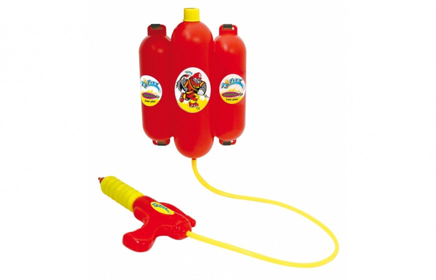 waterpistool met watertank rood junior 2,5 liter