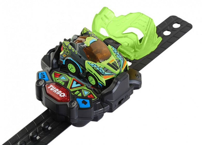 Turbo Force Racers - Green Racer voertuig groen