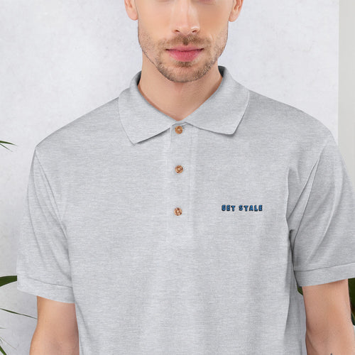 GS Embroidered Polo Shirt
