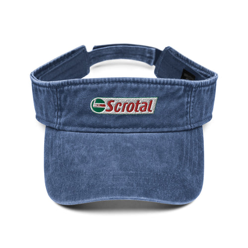 Scrotal Denim visor