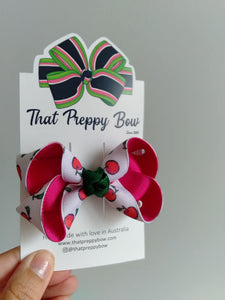 The Preppy Apple Bow