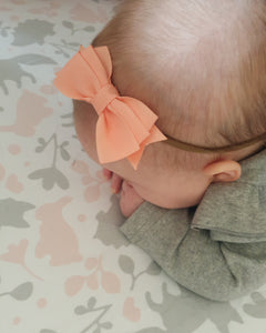 Bella Bow in Soft Nylon Headband
