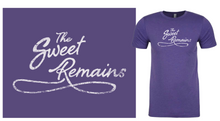 Load image into Gallery viewer, The Sweet Remains script unisex
