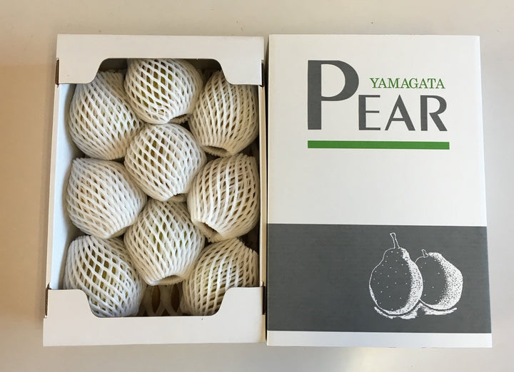 【販売終了】La France Superior Quality 3 kg large balls, 7-8 pcs. ラ・フランス優等品 大玉3kg 7〜8個入り - foodots. Japan
