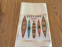 Load image into Gallery viewer, Handmade tea towels ,adventure themes