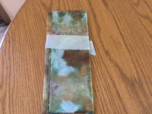 "Load image into Gallery viewer, Hand dyed fabric ""fat quarter""."