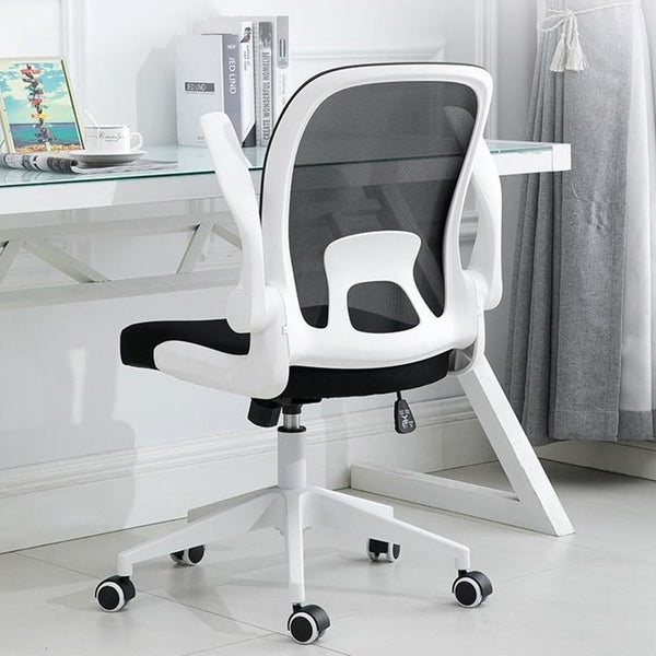 foldable desk chair collapsible hidden office chair