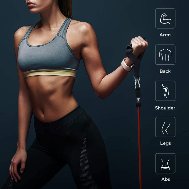 11 Pcs Resistance Fitness Bands Set