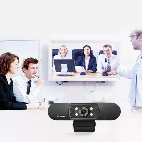 Full HD USB Webcam 1080P Web Camera Built-in Stereo Microphone 1920 x 1080p USB Computer Webcam Skype Video Call For PC Laptop