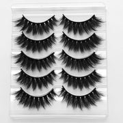 Professional Natural False Eyelash Set