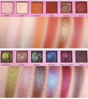 18 Color Beauty Glazed Professional Soft Glam Matte Eyeshadow Glitter Eye Shadow Palette Long Lasting Makeup Eyeshadow