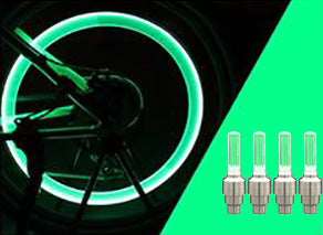 GloCaps™ LED Wheel Lights