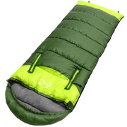 Splicing Adult Lightweight Sleeping Bag Portable Damp-proof Thermal Zipper