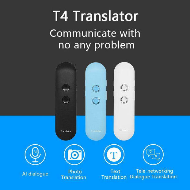 Portable Voice Translator 42 Languages Instant Real-time