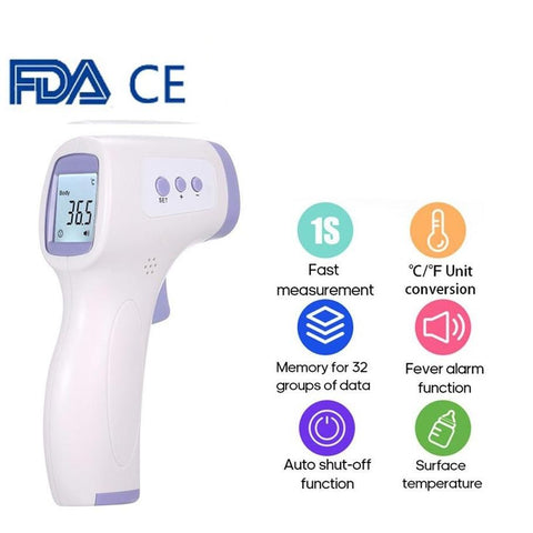 Non Contact Digital Thermometer with LCD Display