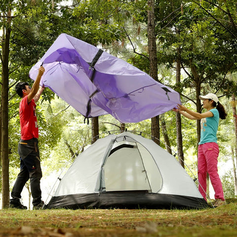 2 Person Aluminum Pole Lightweight Camping Backpacking Tent