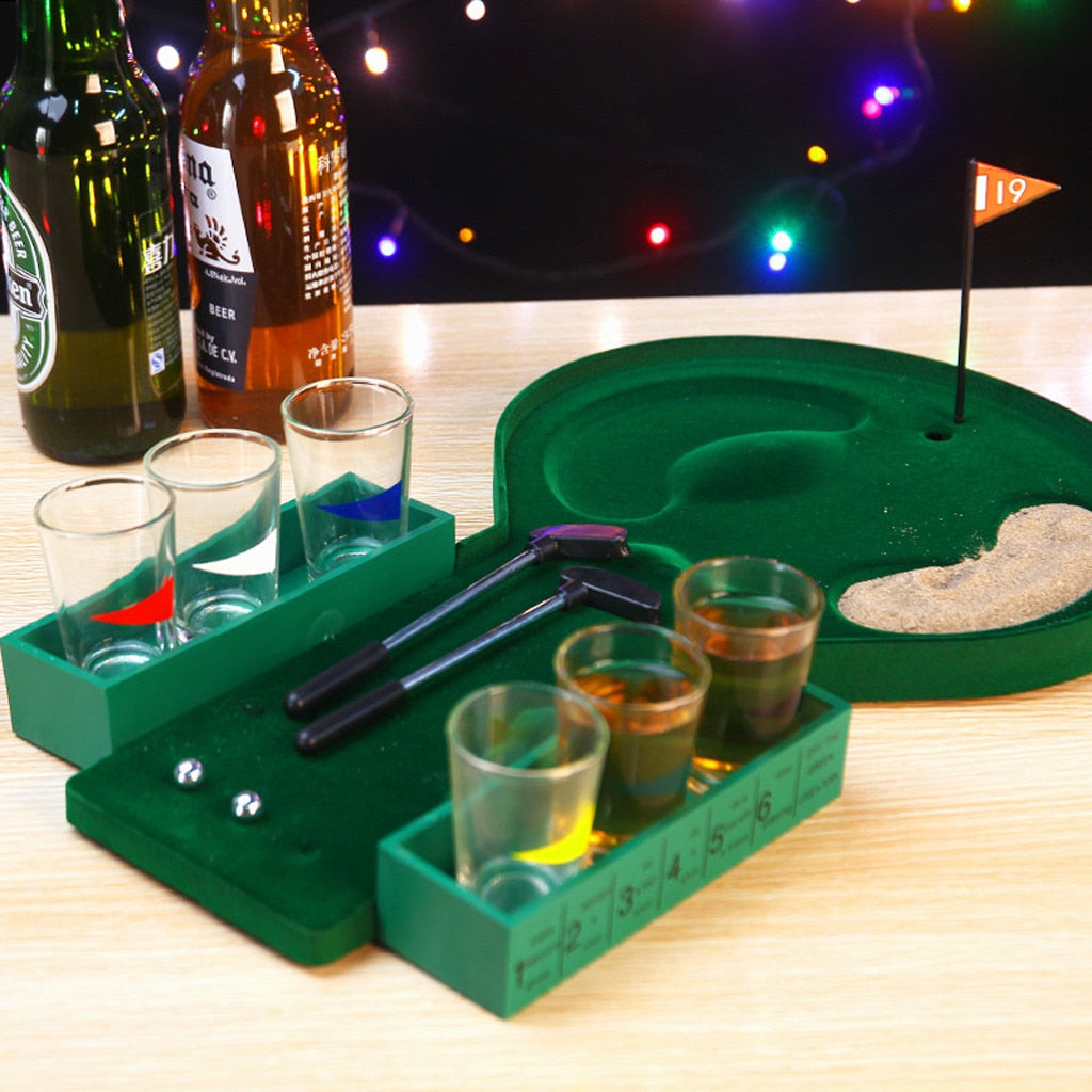 ParkersDeals.com Mini Golf Drinking Game