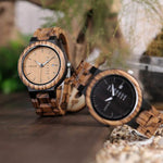 Montre en bois France Collection