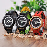 Montre en Bois Bracelet Silicone Collection