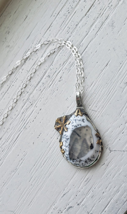 Necklace - Dendritic Opal Necklace