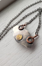 Load image into Gallery viewer, Necklace - Labradorite Mushroom Necklace