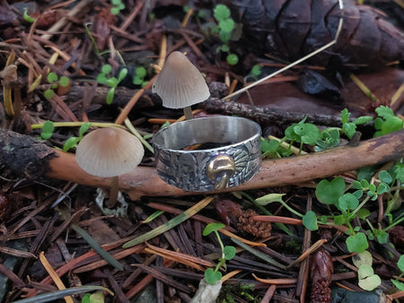 Ring - Custom Mushroom Ring