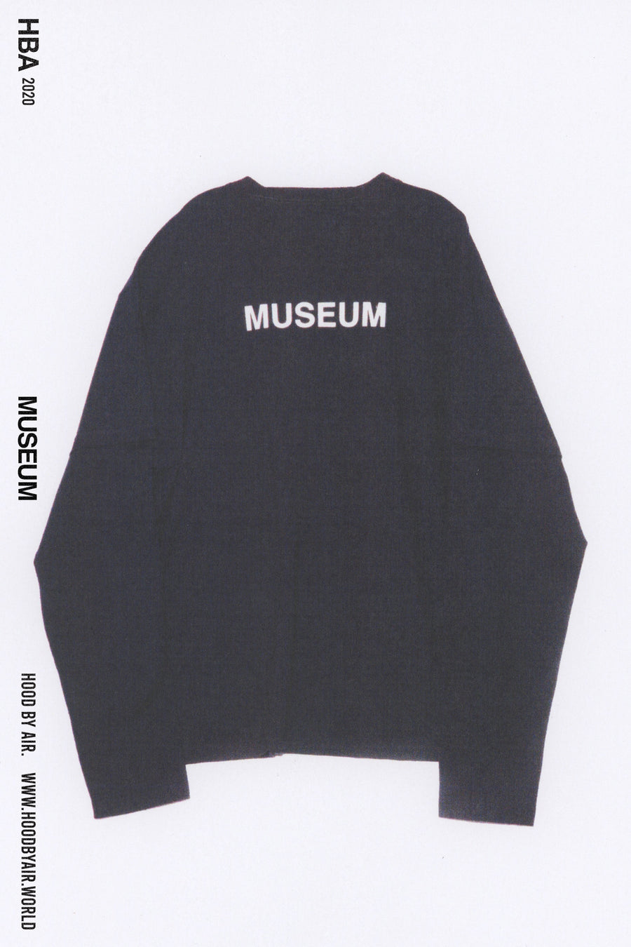 HBA-M-002-01 MUSEUM SHORT OVER LONG BLACK