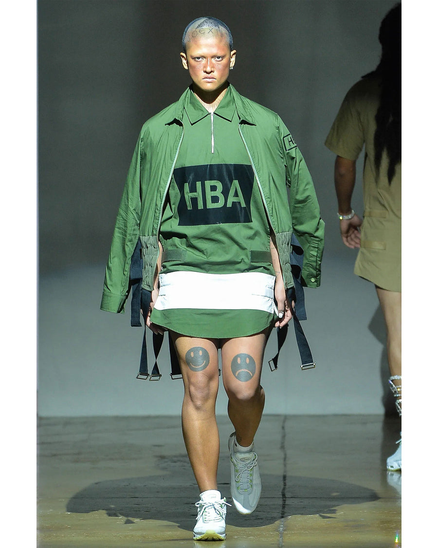 HBA-158 OVERSIZED HOODED SWEATSHIRT