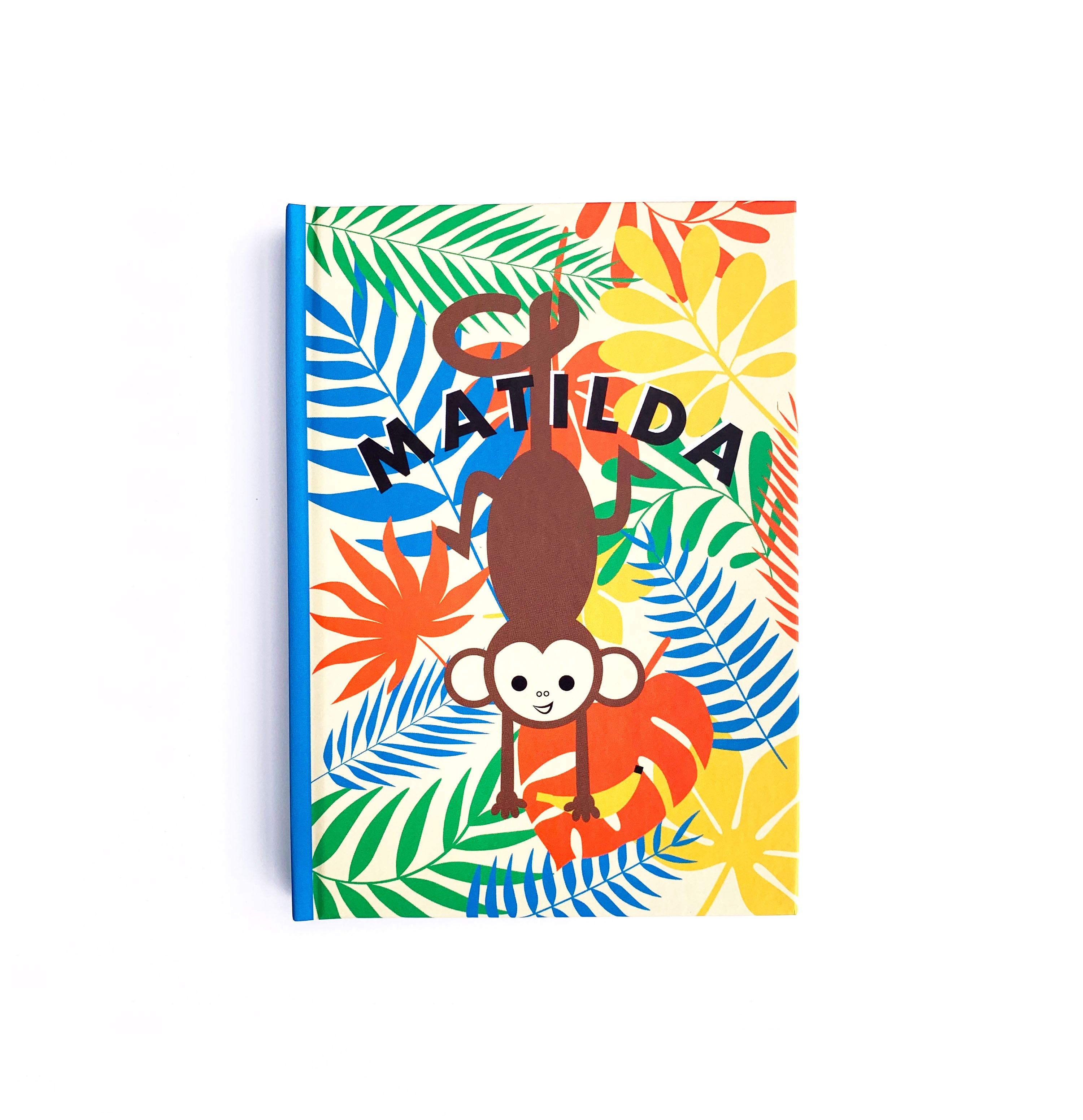Cheeky Monkey Personalised Notebook