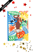 Load image into Gallery viewer, Copy of Cheeky Monkey Personalised Notebook