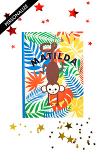 Copy of Cheeky Monkey Personalised Notebook
