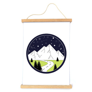Starry Night Print