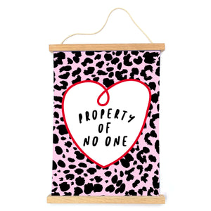 Property Of No One Print