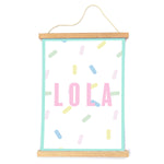 Load image into Gallery viewer, Pastel Graphic Personalised Print