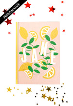 Load image into Gallery viewer, Lovely Lemons Personalised Notebook