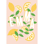 Load image into Gallery viewer, Lovely Lemons Personalised Print