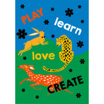Load image into Gallery viewer, Play Learn Love Create Print