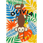 Load image into Gallery viewer, Cheeky Monkey Personalised Print