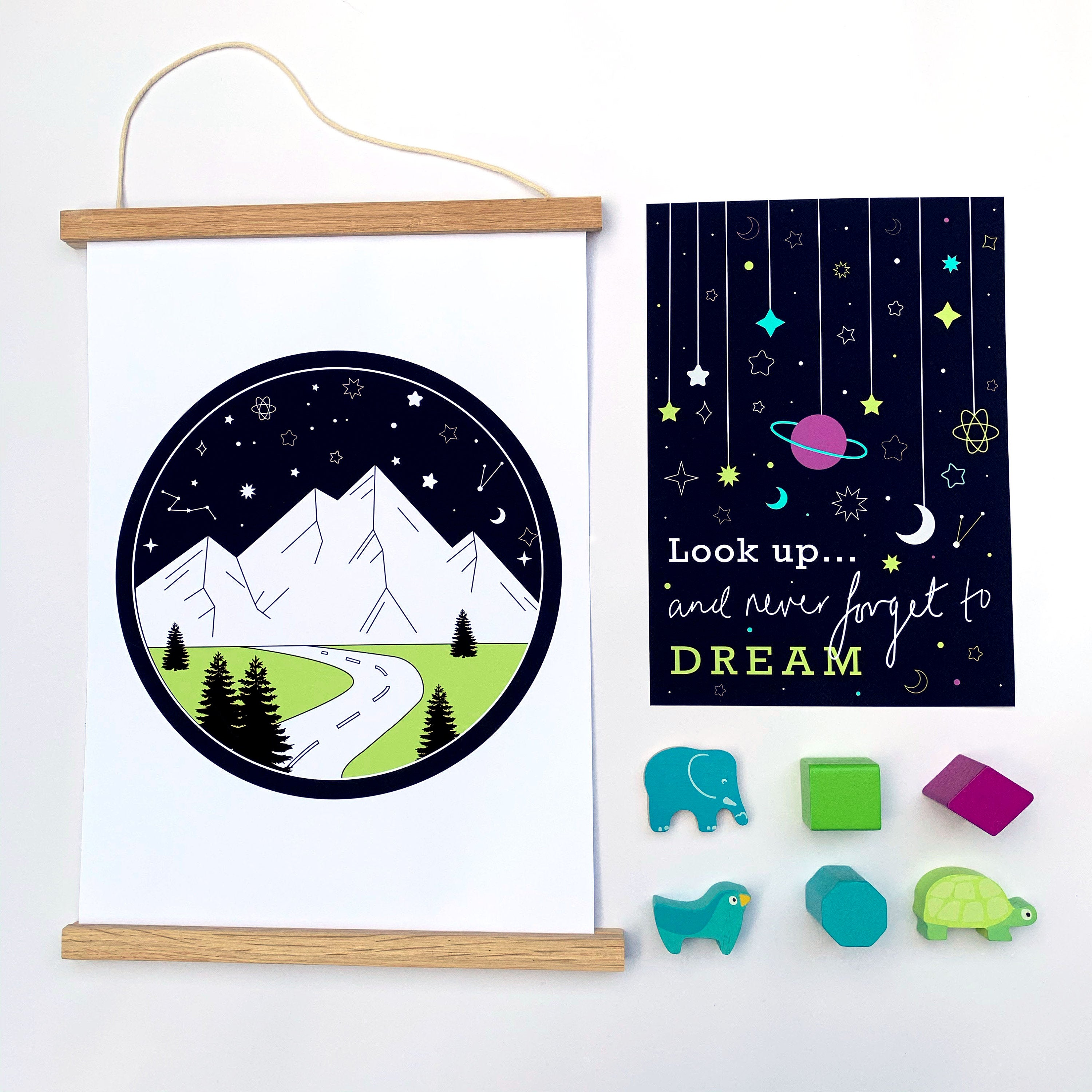 Never Forget To Dream Print