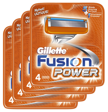 16 stk. Gillette Fusion Power