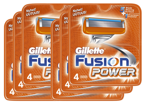 24 stk. Gillette Fusion Power