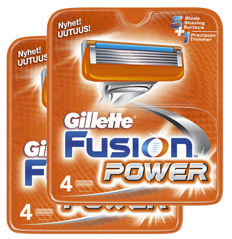 8 stk. Gillette Fusion Power