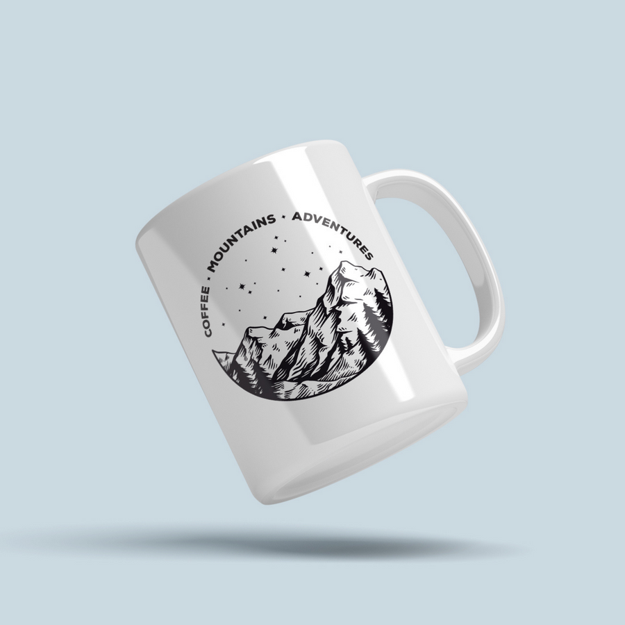 Coffee Adventure Mug (11oz)