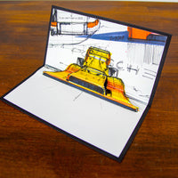 917 / 10 - Pop Up Card - Artists Edition