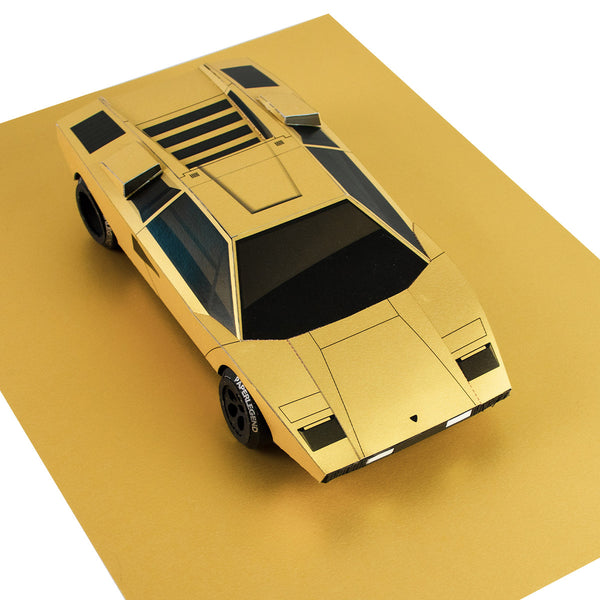 The Coun - 1:18 - Printable Template of Papercraft Car Sculpture